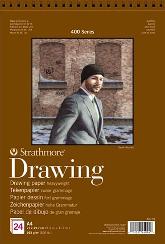 Strathmore Drawing A5 14,8x21cm 400 series 163g 24ks