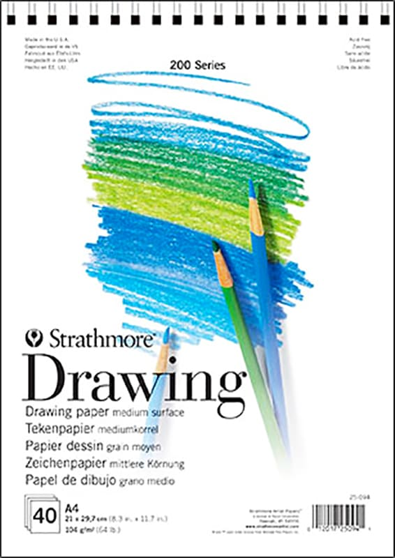 Strathmore Drawing A5 14,8x21cm 104g 40ks