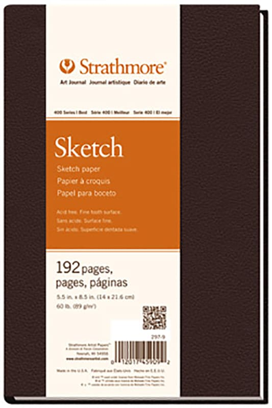 Strathmore Sketch Art Book 14x21,6cm 89g 192ks