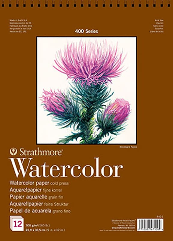 Strathmore Watercolor 17,8x25,4cm 300g 12ks