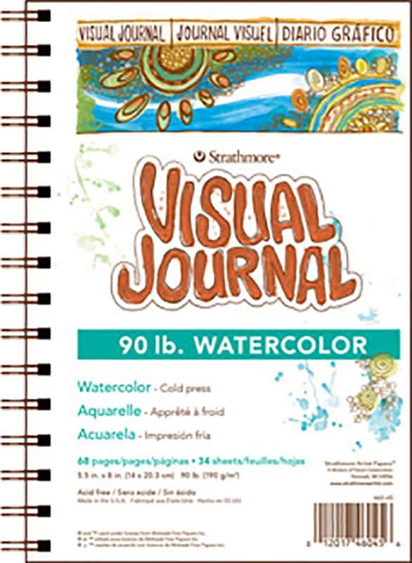 Strathmore Visual Journal Watercolor 14x20,3cm 190g 68ks