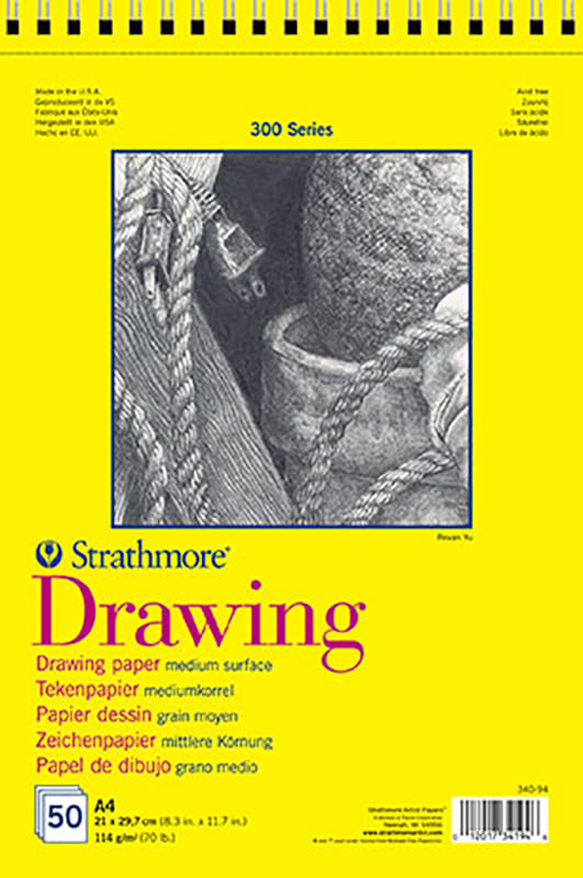 Strathmore Drawing A3 29,7x41,9cm, 50 listů, 300 series
