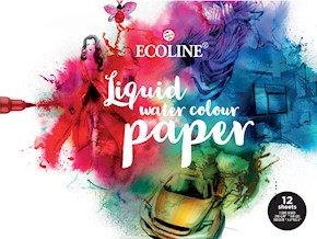 Ecoline Watercolour Paper - 12 listů